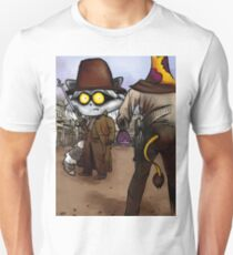 Raccoon Madness Game -  Back to the future theme Unisex T-Shirt