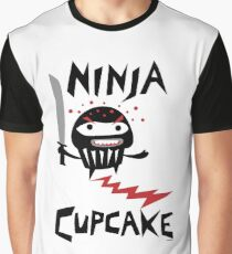 Ninja Cupcake   Graphic T-Shirt