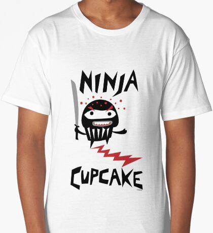 Ninja Cupcake   Long T-Shirt