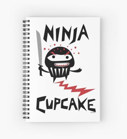 Ninja Cupcake   Spiral Notebook