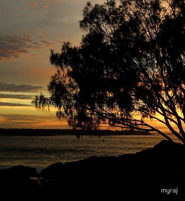 Yamba Sunrise by myraj