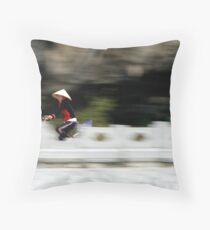 Tam Coc Throw Pillow