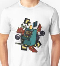 Retro arcade game machine. T-Shirt