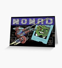 Gaming [C64] - N.O.M.A.D Greeting Card