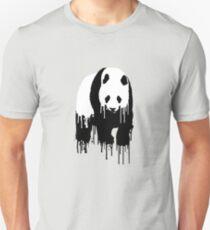 Paint Drip Panda T-Shirt