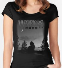 Warrior Cats  Women's Fitted Scoop T-Shirt