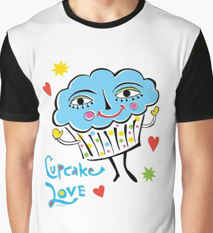 Cupcake Love Graphic T-Shirt