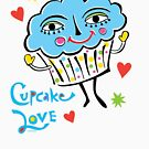 Cupcake Love by Andi Bird