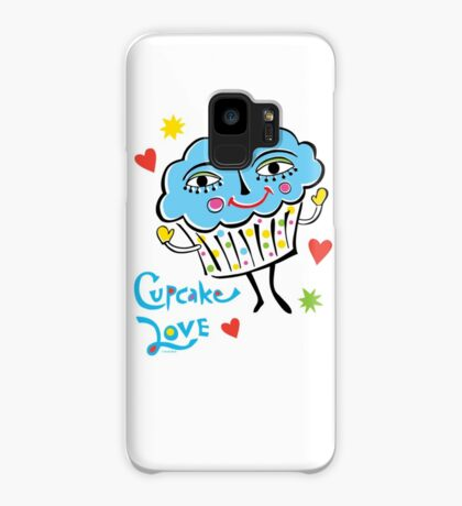 Cupcake Love Case/Skin for Samsung Galaxy