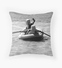 Ship Ahoy Throw Pillow