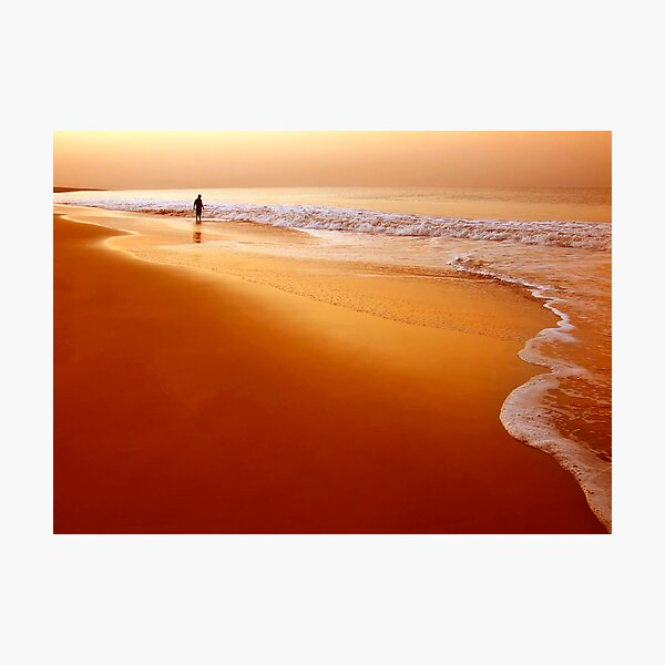 Browny Morning Photographic Print