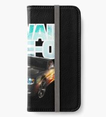 Hawaii Five-O Black Camaro (White Outline) iPhone Wallet/Case/Skin