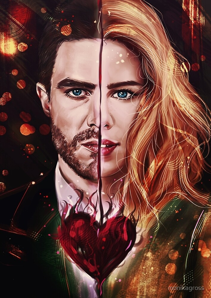 Oliver/Felicity by monikagross