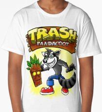 Trash Pandacoot Long T-Shirt