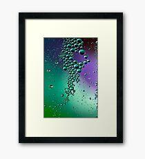 Raining bubbles Framed Print