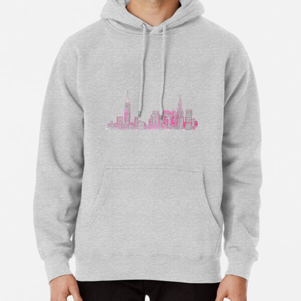 Skyline de New York Sweat à capuche épais