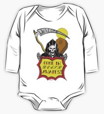 DEATH AWAITS REDUX - Art By Kev G One Piece - Long Sleeve