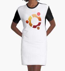 LINUX Graphic T-Shirt Dress