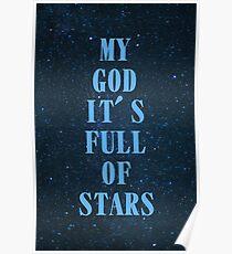 Full of stars Poster