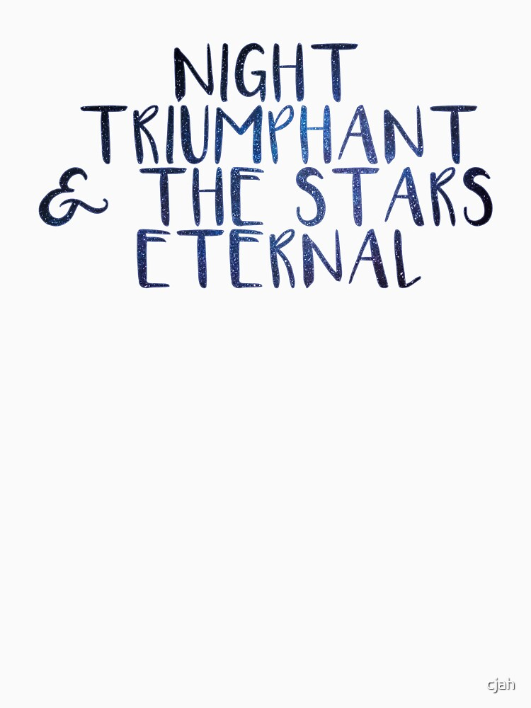Night Triumphant & the Stars Eternal by cjah