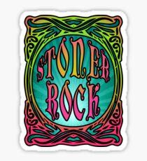 STONER ROCK - bright no leaf Sticker