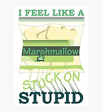 Marshmallow Photographic Print