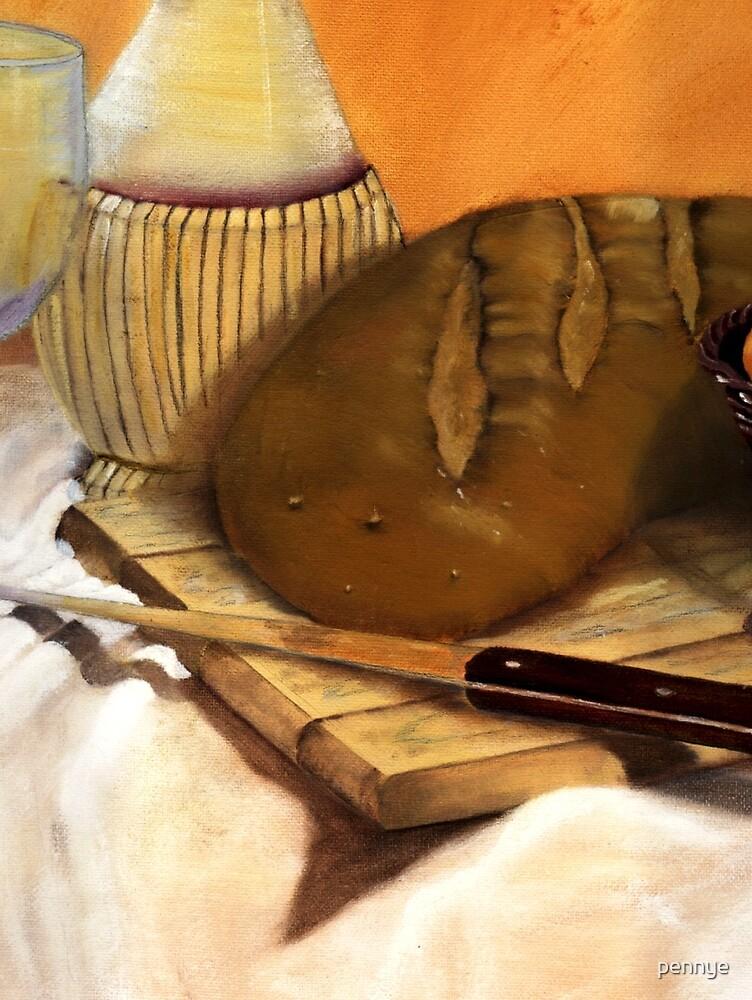Breaking Bread by pennye