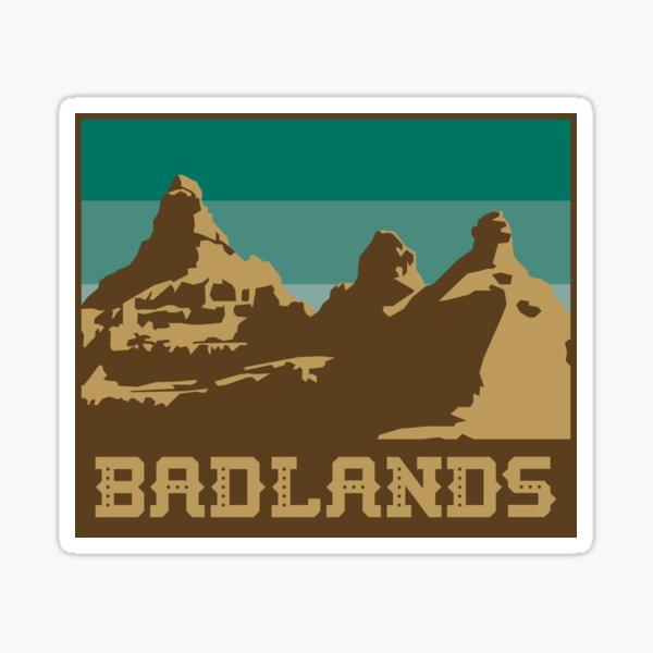 Updated Badlands Nat'l Park Stickers Sticker