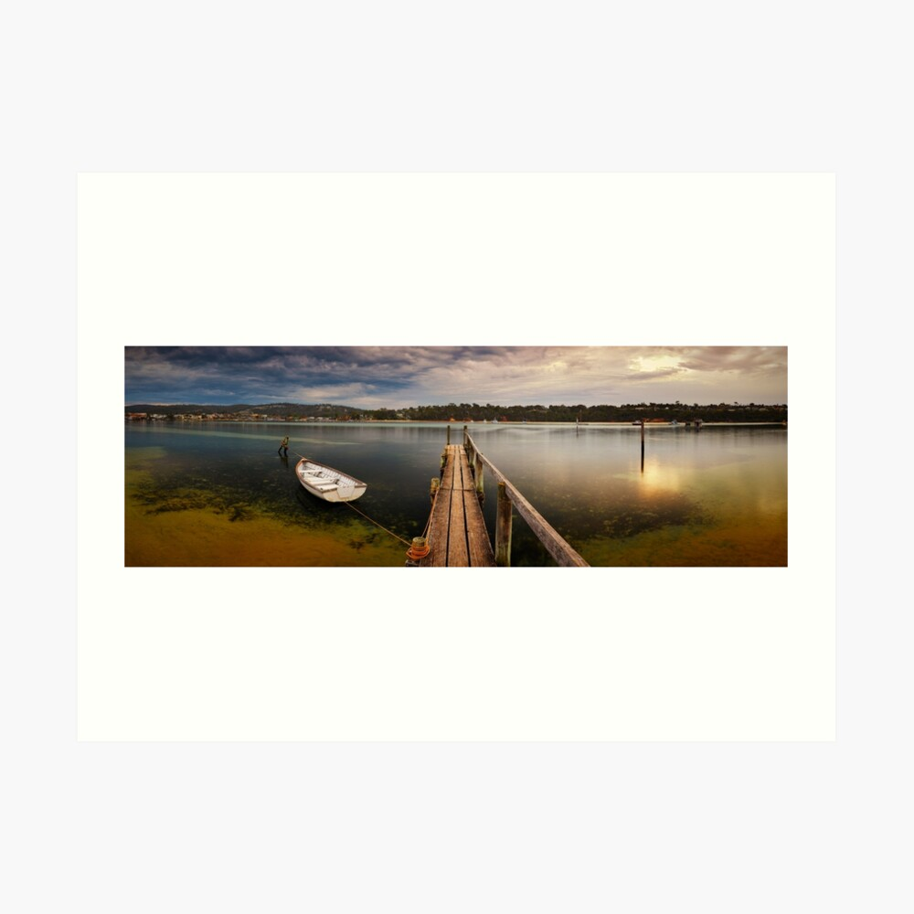 Quiet Morning, Merimbula, New South Wales, Australia Art Print