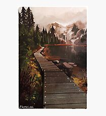Mountain Path Photographic Print
