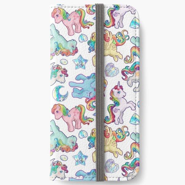 Rainbow Ponys G1 Fundas tarjetero para iPhone