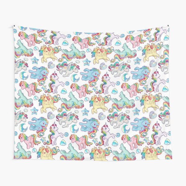 Rainbow Ponys G1 Tapestry