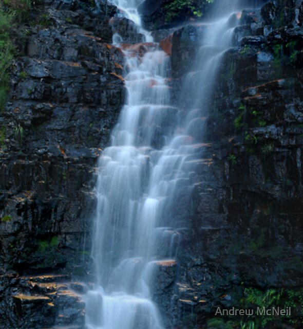 Beauchamp Falls by Andrew McNeil