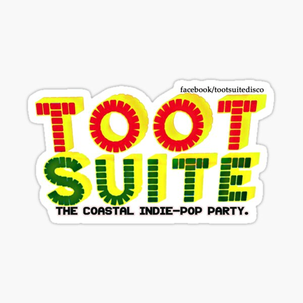 Toot Suite - The Coastal Indie Disco Sticker