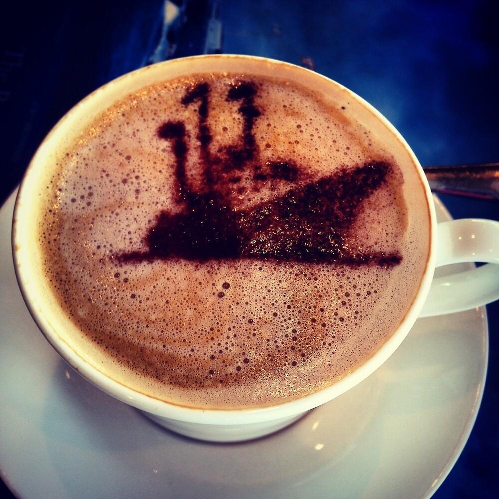 Coffee - Royal Yacht Britannia by Robert Steadman