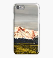 Pikes Peak in the morning light iPhone Case/Skin