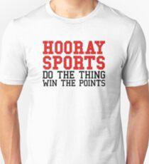 hooray sports Unisex T-Shirt