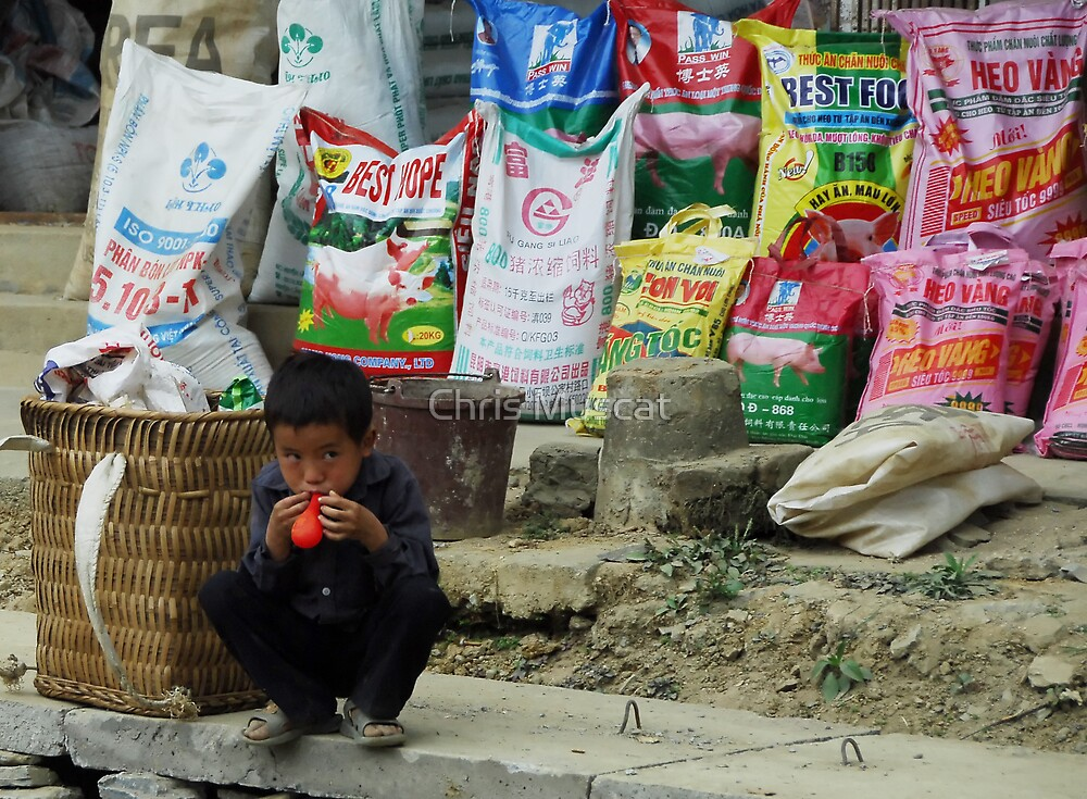 Bac Ha Market Two by Chris Muscat