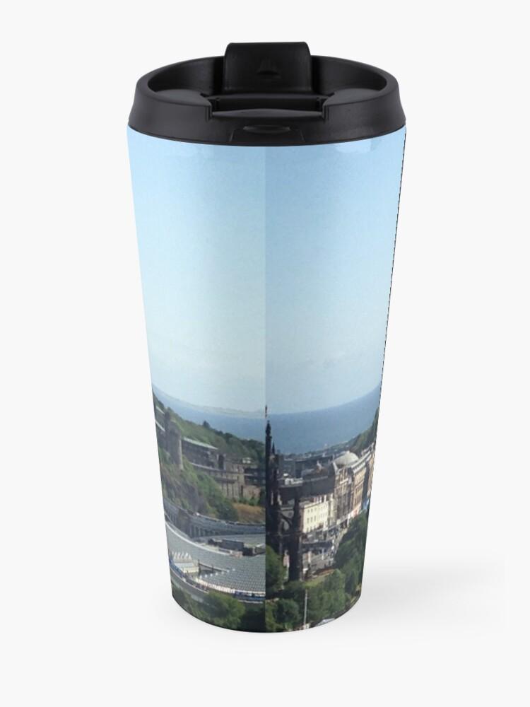 Alternate view of Edinburgh directions Travel Mug