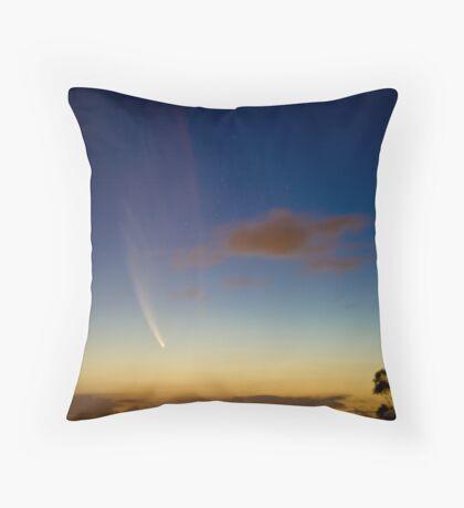 Comet McNaught Throw Pillow