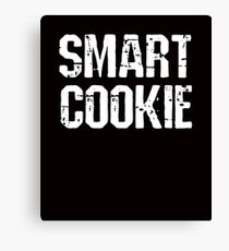 Smart Cookie Funny Saying Canvas Print