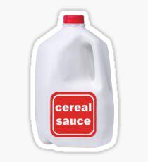 cereal sauce Sticker