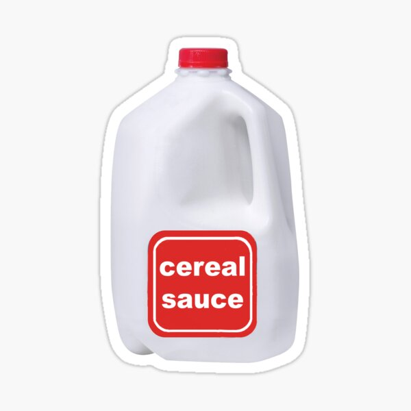 cereal sauce Sticker