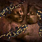 3 salamanders by Kurt  Tutschek