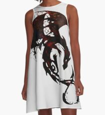Fate of the Dragon A-Line Dress