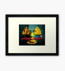 A Guy With A Nuke Framed Print