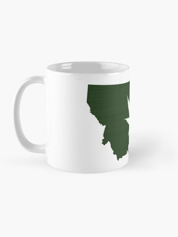 Alternate view of Marijuana Leaf Montana Mug