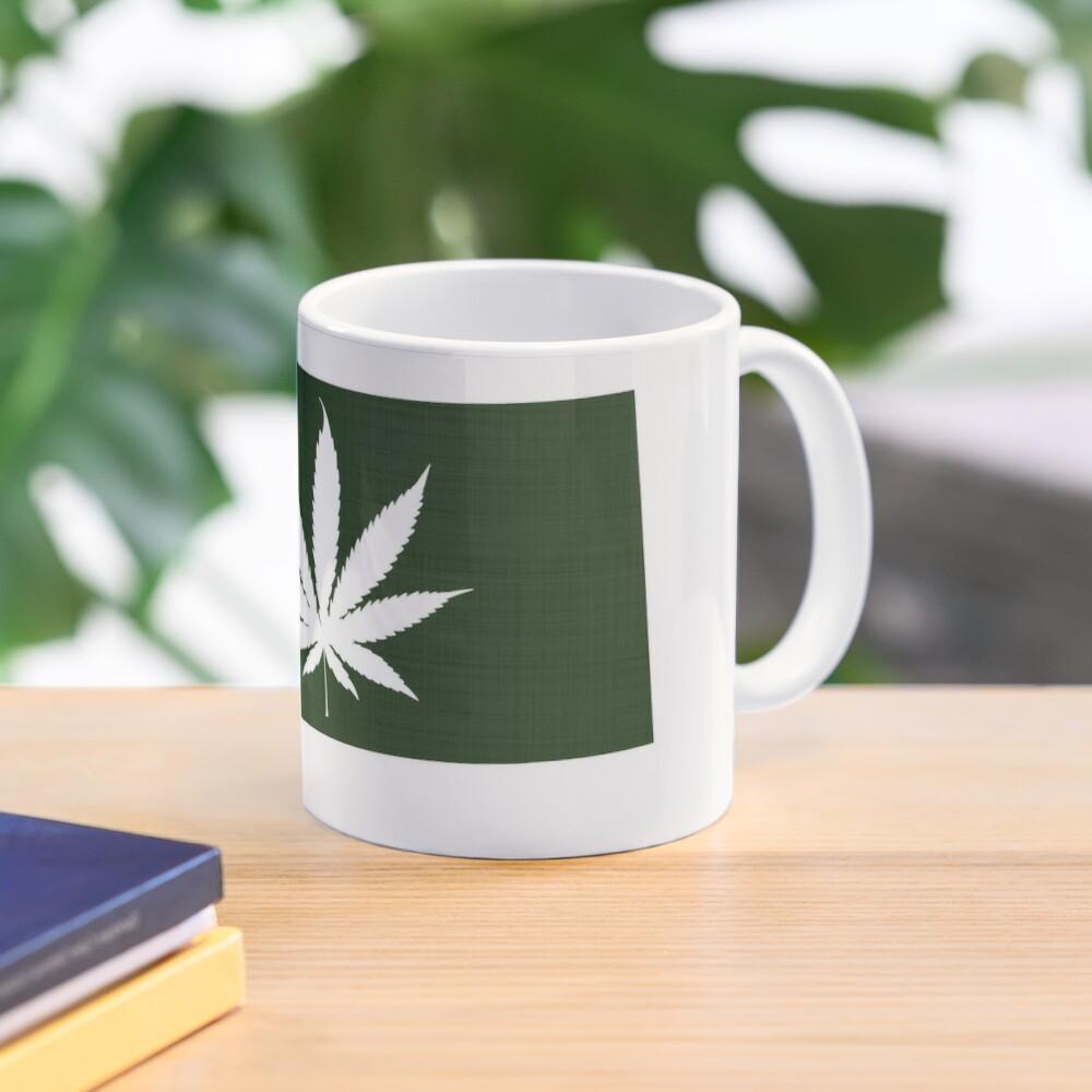 Marijuana Leaf Montana Mug