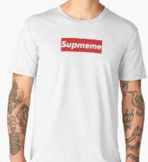 """Supreme Box Logo - """"Supmeme"""" Men's Premium T-Shirt"""
