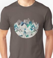 Call of the Mountains (in evergreen)  Unisex T-Shirt